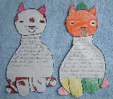 Two letters from grade 2 students - click for larger version