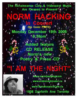 poster for December 19 CD launch