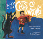When Cats Go Wrong BOOK cover, click for details